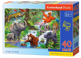 Puzzle Castorland Jungle Animals 40 dílků