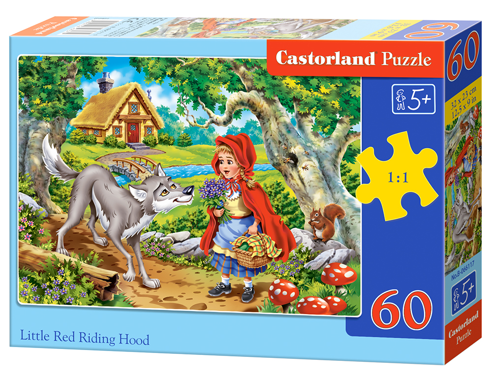 Puzzle Castorland Little Red Riding Hood 2 60 dílků