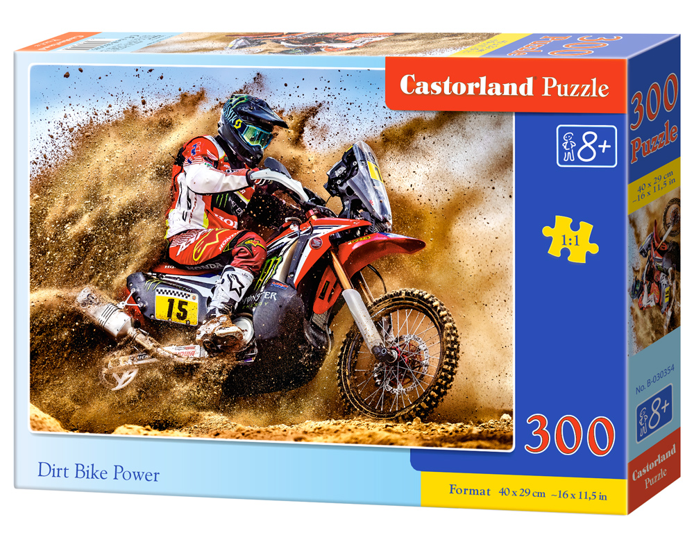 Puzzle Castorland Dirt Bike Power 300 dílků