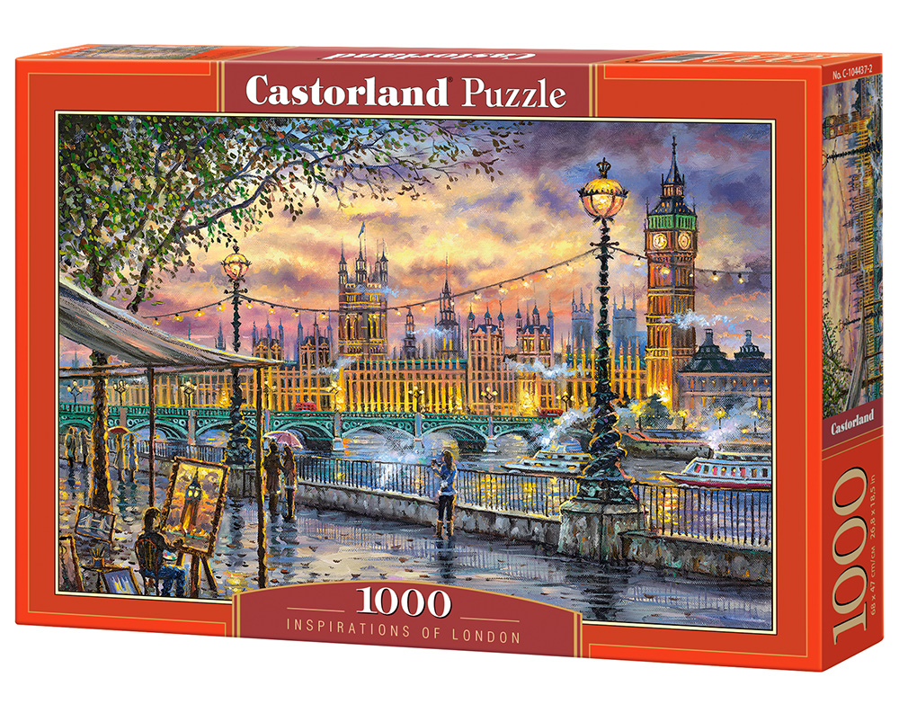 Puzzle Castorland Inspirations of London 1000 dílků
