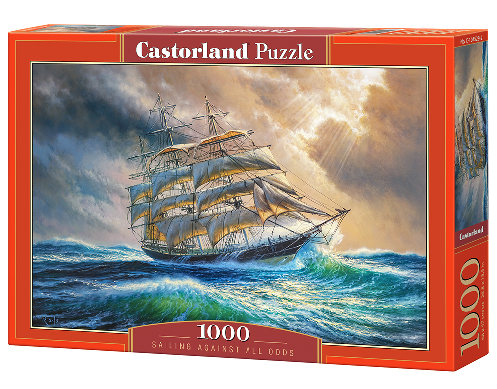 Puzzle Castorland Sailing Against All Odds 1000 dílků
