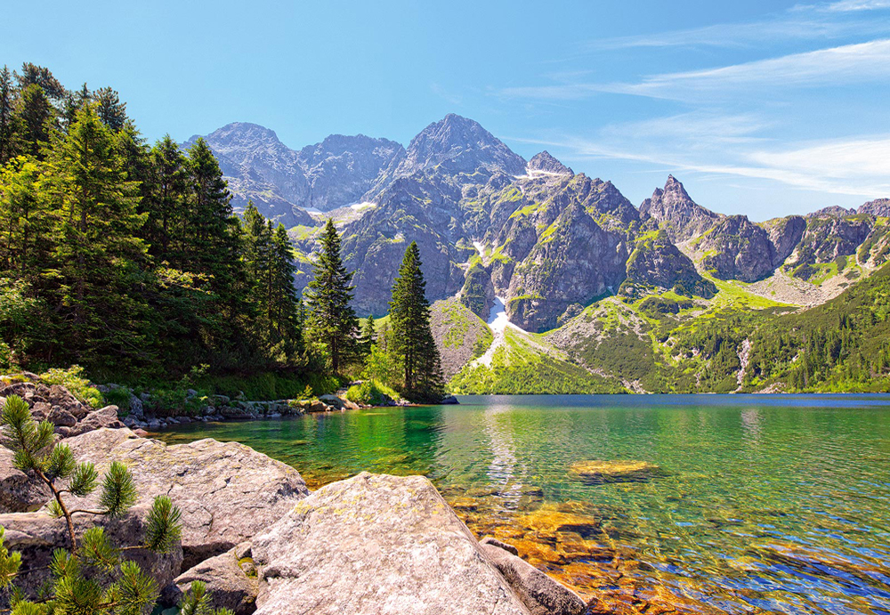 Morskie Oko Lake, Tatras, Poland