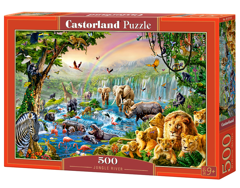 Puzzle Castorland Jungle River 500 dílků