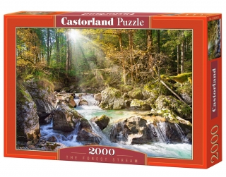 Puzzle Castorland The forest stream 2000 dílků